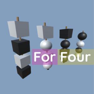 ForFour AR Spiel Logo